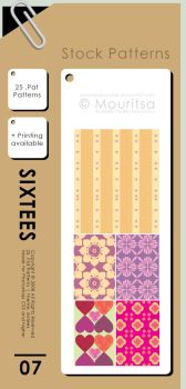 Pattern Pack - Sixtees by MouritsaDA-Stock