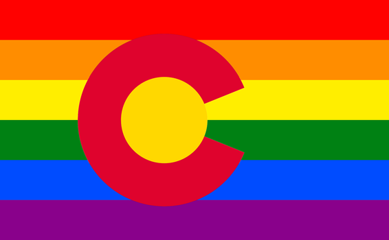 Colorful Colorado Flag by IanM