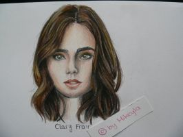 Clary Fray by MikeyIa