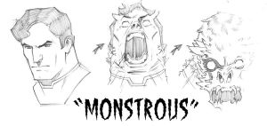 MONSTROUS by jerkmonger
