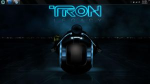 Tron Theme For Windows 7 by djtransformer01
