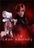 Leon Scott Kennedy Poster by Daphnecool