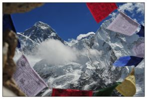 Everest y Nuptse by faondejade
