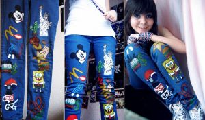 USA jeans by JuliaMillieva