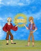Hetalia-Road to El Dorado by vic999