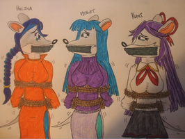 Suggestion - Thea sisters bound and gagged pt. 1 by spyaroundhere35