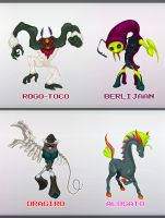 MONSTERS by panvix