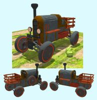 Thicket Witch - Steampunk Jalopy by ChristianHolmes