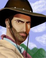 Brisco County Jr by SpiffyMai