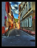 Colorful Alley by hhjjii