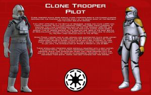 Clone Trooper Pilot tech readout [New] by unusualsuspex