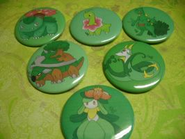 Pokemon Button:Team of Six For Sale by R3YD1O