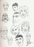 Day 179 of a Year of Drawing 2015 - Part One by Kevin-B-Madison