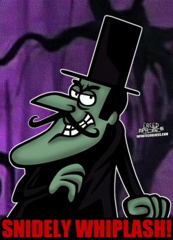 Cartoon Villains - 081 - Snidely Whiplash! by CreedStonegate