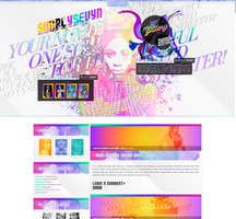 Sevyn Streeter WordPress Theme by R21Art