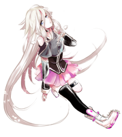 Newborn Angel - IA (Aria on the planetes) by NyancyPeekachew