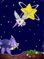 Metaknight's wish comes true by armegeddon2012