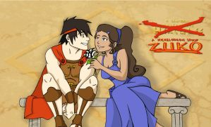 Zutara Week: Mythology by fenrir66