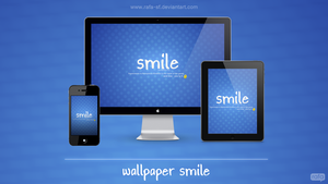 wallpaper Smile by rafa-sf