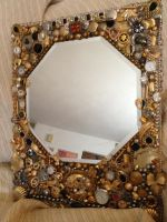 Heavy Metal Mirror frame by MerakiMudworks