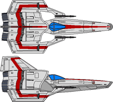 Colonial Viper Mk IV Type A Full Color by Kelso323