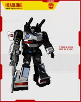 AUTOBOT HEADLONG by F-for-feasant-design