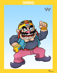 Smash Bros. Wario by SonicKnight007