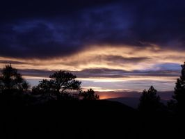 Henry mountains sunset 01 by Urmar