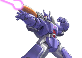 Galvatron Render by StaindHand
