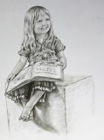 Drawing of Norah by Ceridwens-gallery