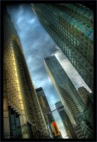 Toronto skyscrapers by micpta