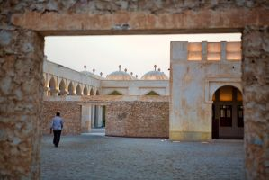 Mosques at Dusk by TomFawls