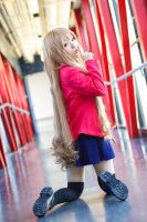 ToraDora- Taiga winter uniform - 04 by MissAnsa