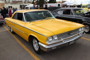 Yellow Galaxie by KyleAndTheClassics