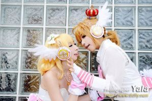 Rin x Len magnet cosplay by Muffin-PrincessCraft