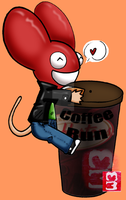 CoffeeMau5 by MorningAfterHangover