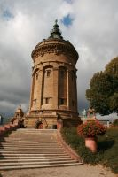 Water tower Stock 02 by Malleni-Stock