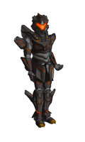 Armored Suit Concept by LethalMoose
