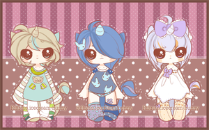 {1 LEFT} AUCTION ~ Unicorn Shotas in Pajamas by Riftress