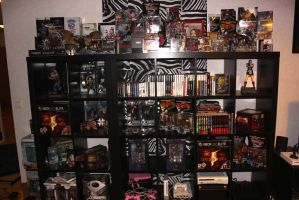 My Resident Evil-collection, March 2014 by Mlie-Redfield