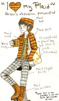 Jigamaree 5 - I Heart Plaid by Raire