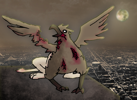 Zombie Griffin by ShapelyMan