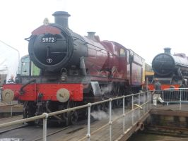 Hogwarts Express at Tyseley Loco Works by Dan-the-Countdowner