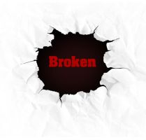 Broken Page by FreeBackgroundWeb
