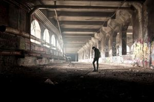 Abandoned Subway by BalchPhoto