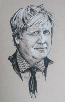 Boris Johnson by outsidelogic