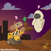 Wall-E's Gift by RobertMakes