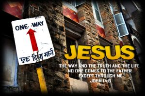 Jesus the way by GodwinAP