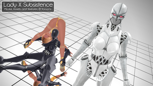 [MMD] Lady X Subsistence - DL by MrWhitefolks