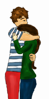 Louis and Eleanor! Aww! by GDartwork